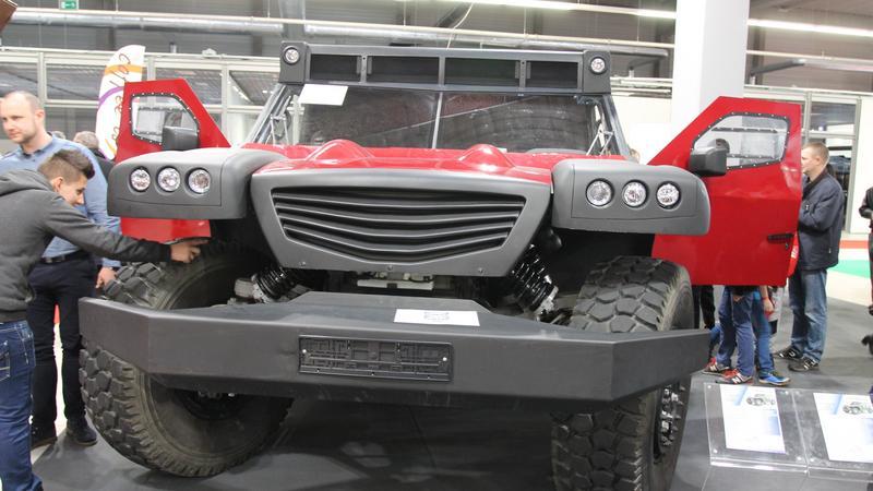 Funter 4x4 - polskie auto wielozadaniowe