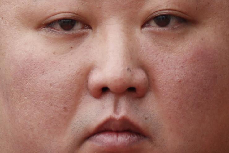 Kim Džong Un EPA JORGE SILVA - POOL