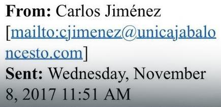 Dopis u našu Kuću košarke poslao je Karlos Himenez