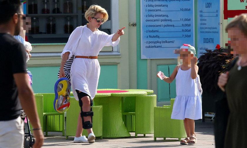 Marieta Żukowska kontuzja nogi
