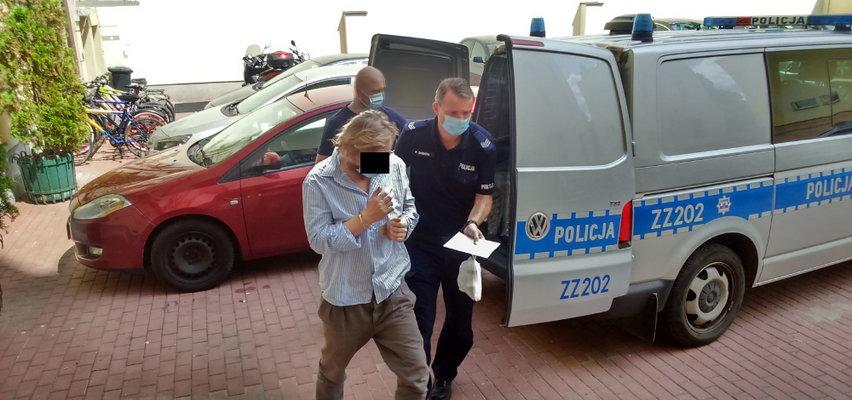 """Warszawscy policjanci zatrzymali... """"ducha"""". ZDJĘCIA i WIDEO"""