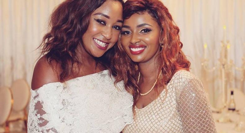 Anerlisa Muigai and Betty Kyallo during her birthday (Instagram)