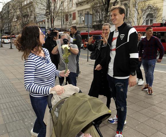 Sjajan gest igrača Partizana