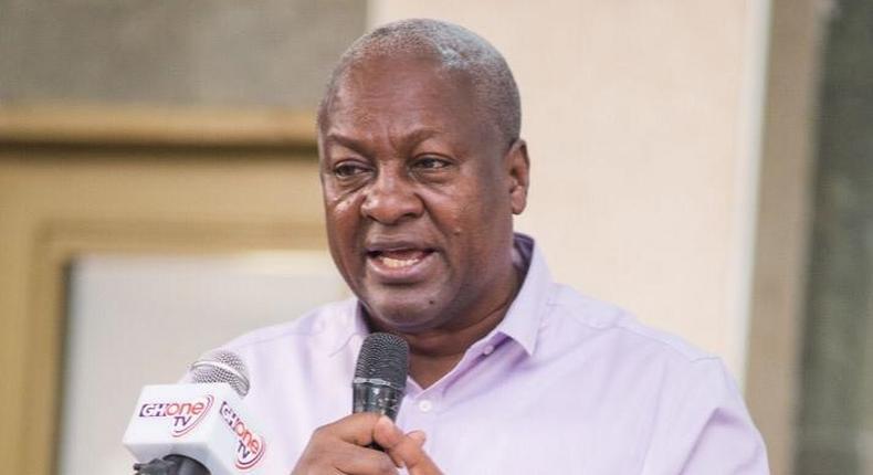 NDC flagbearer, John Mahama