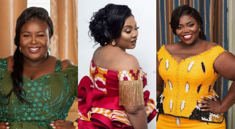 6 beautiful Kente styles for plus size women on your wedding day