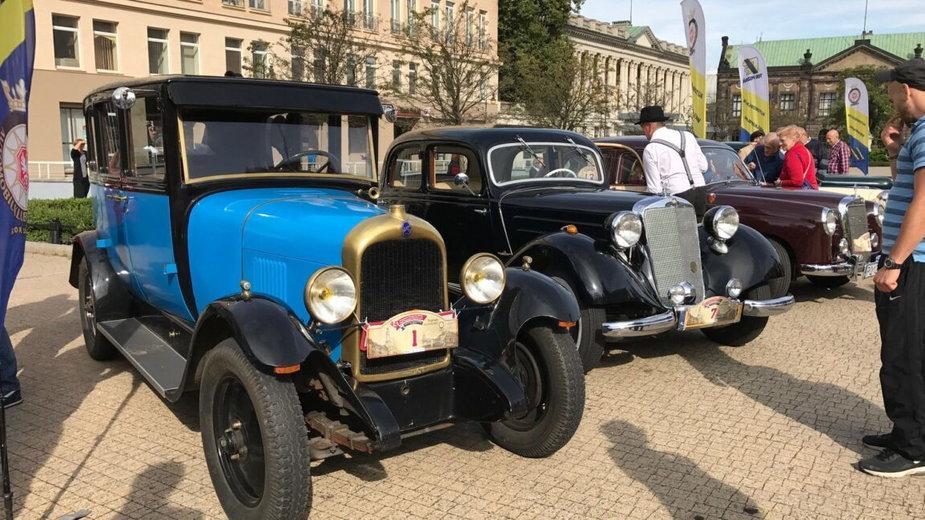 Rajd Pojazdów Zabytkowych, zdjęcie archiwalne Codzienny Poznań