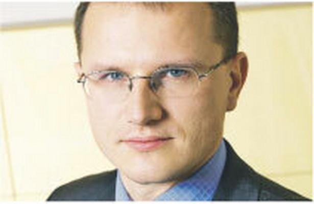 Marcin Chomiuk, dyrektor w Pricewaterhouse-Coopers