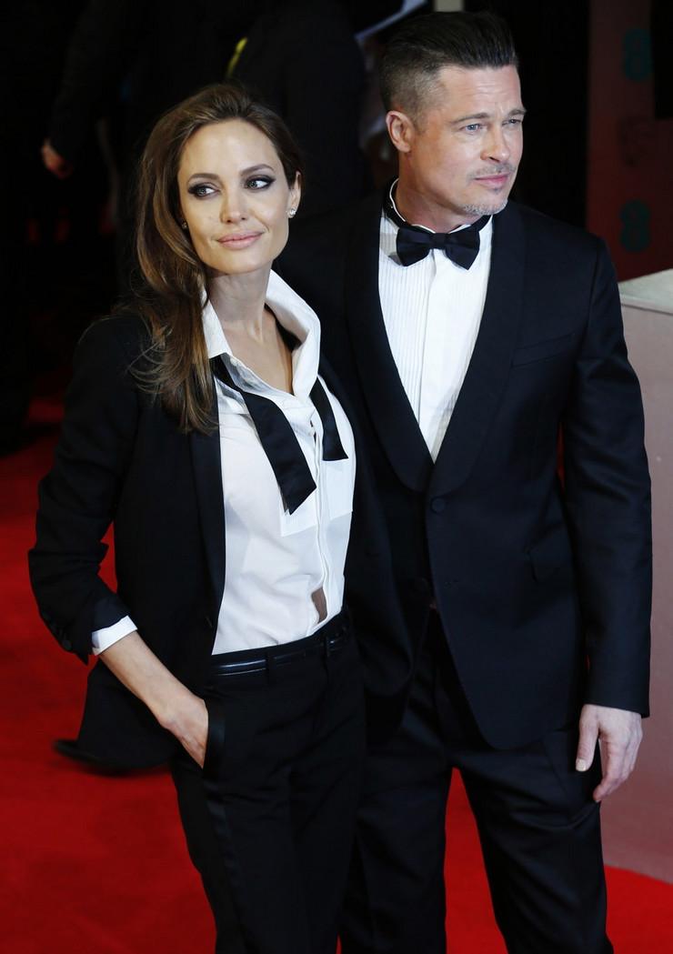 Svakako par koji je pokupio svu pažnju na crvenom tepihu, Bred Pit i Anđelina Žoli.