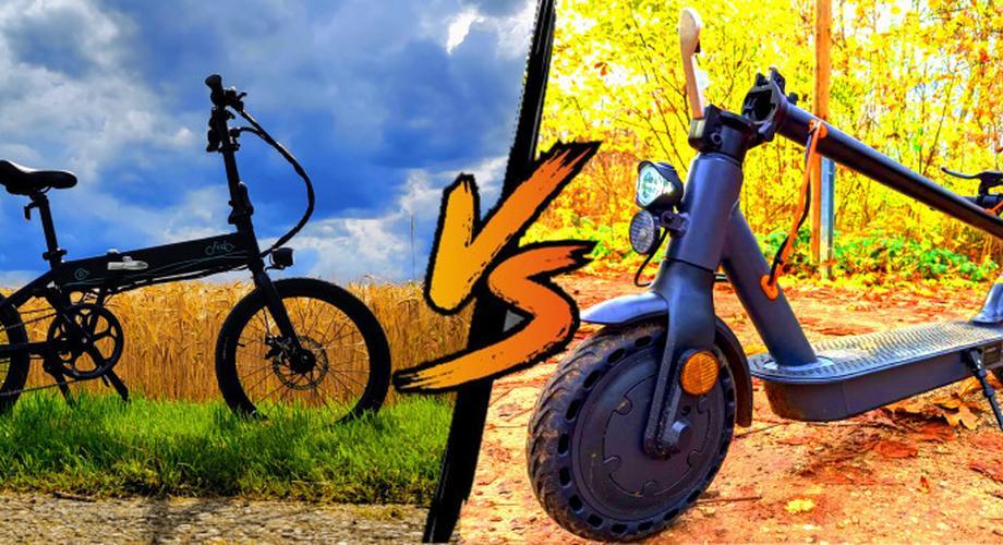 Vergleich: E-Klapprad oder E-Scooter? Und der Sieger ist…