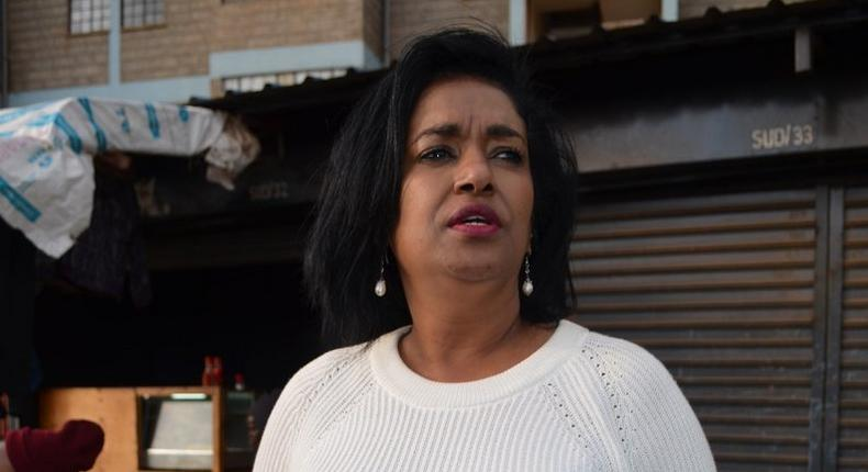 Governor Mike Sonko accused Nairobi Woman Rep Esther Passaris of getting paid to start Madaraka Day brawl with the governor