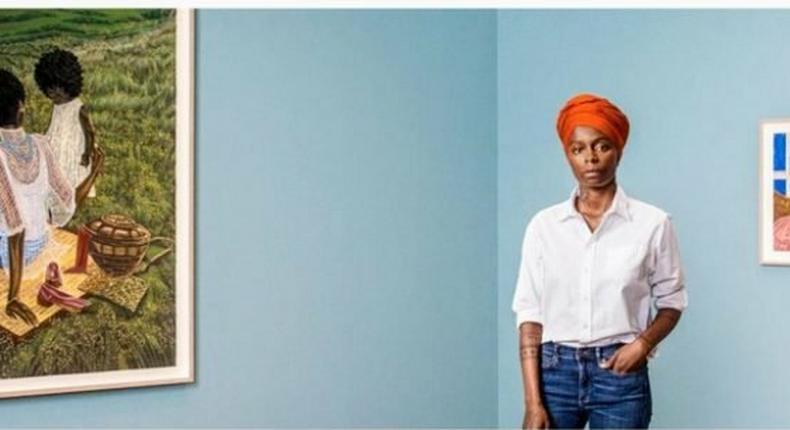 Toyin Odutola is now the third highest paid Nigerian artist (naijaloaded)