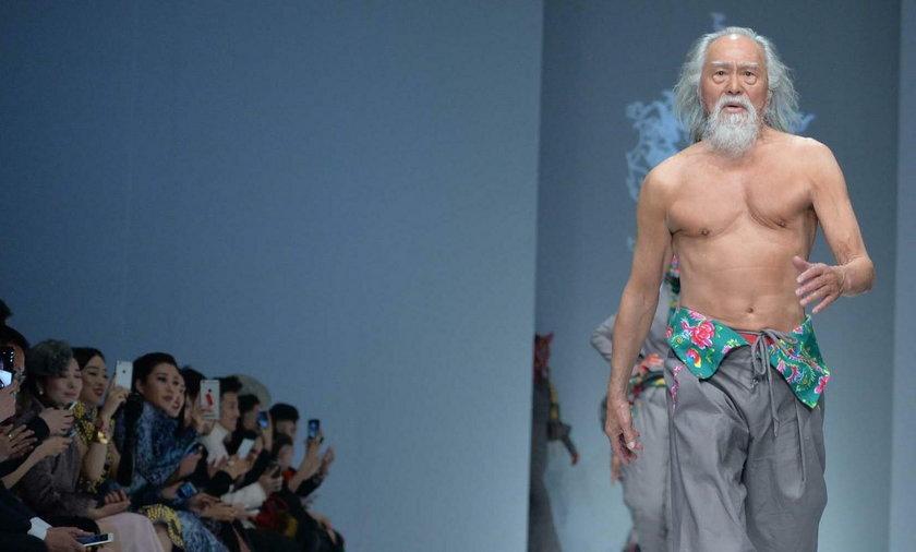 81-latek podbija świat mody! Niejeden zazdrości mu formy