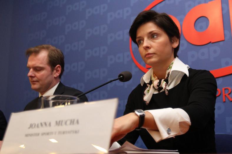 Marcin Herra i Joanna Mucha