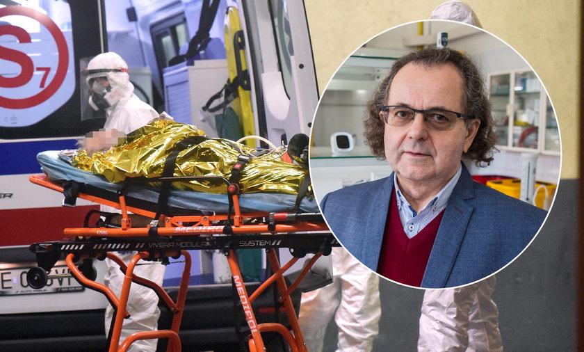 Koronawirus. Epidemiolog Andrzej Trybusz o superroznosicielach.