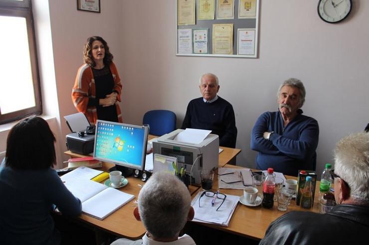 Sjednica Predsjednistva Saveza invalida rada u Gradiski
