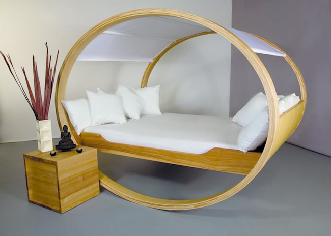 25 Wzorów Pięknych łóżek Najdziwniejsze łóżka świata