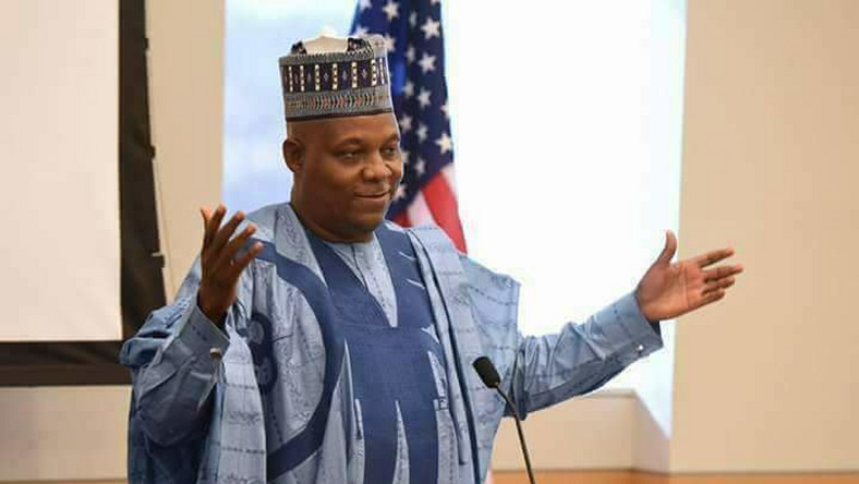 Outgoing Borno State governor, Kashim Shettima, has been elected to represent Borno Central in the Senate