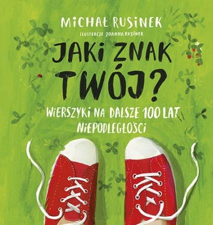 """okładka książki Michała Rusinka """"Jaki znak twój?"""""""