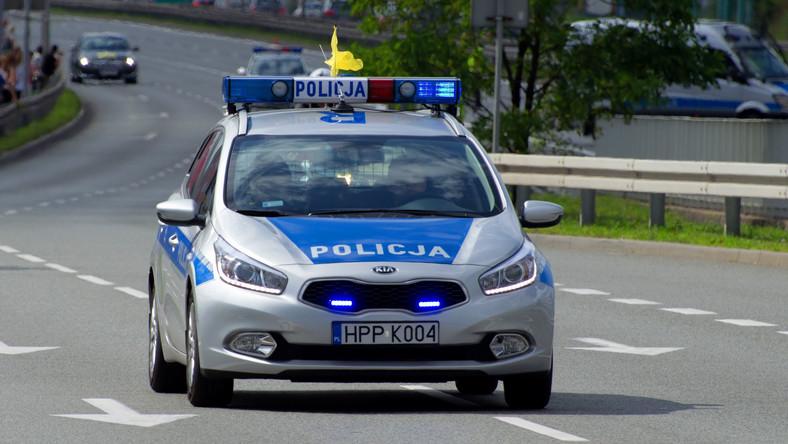 radiowóz policja