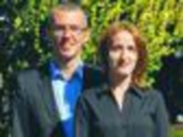 Jacek Strzelczyk i Stanisława Porzycka-Strzelczyk poznali się przy pracy naukowej, teraz naukę praktykują w swojej firmie