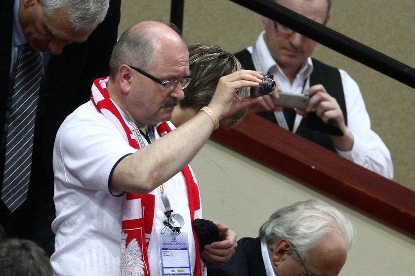 Katowice. Piotr Uszok, były prezydent Katowic  w delegacji do Kataru