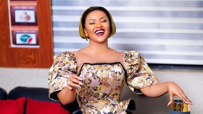 Nana Ama McBrown continues her 'gram fashion streak in bright coloured outfit