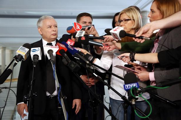 Jarosław Kaczyński PAP/Tomasz Gzell