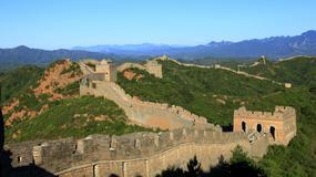 Podróbka Wielkiego Muru Chińskiego w... Chinach