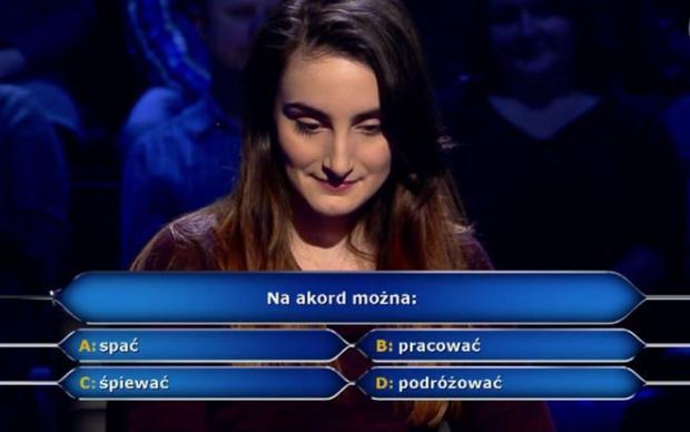 """""""Milionerzy"""" - kadr z programu TVN"""