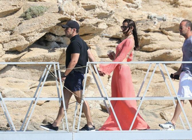 Adrijana Lima i Emir Udžap na Mikonosu