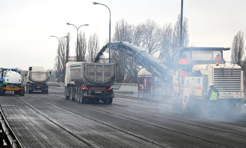 Prezydent nie ma czasu na most Łazienkowski