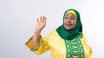 Tanzania's first female president confirms she will run for office in 2025