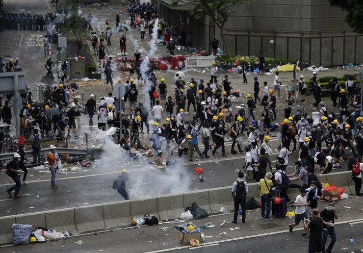 Hong Kong, protesti