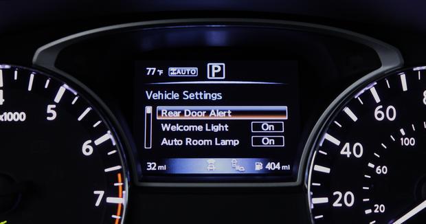 System RDA można łatwo skonfigurować w komputerze pokładowym samochodu