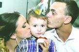 03aleksandra pavle i tomislav na proslavi cetvrtog rodjendana foto Privatna arhiva
