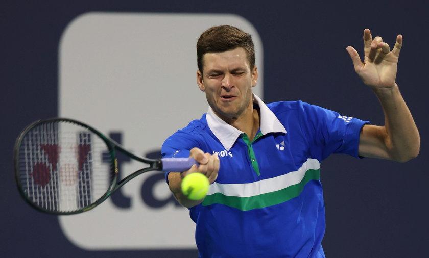 Craig Boynton, trener Huberta Hurkacza, poprowadził polskiego tenisistę do finału turnieju ATP w Miami