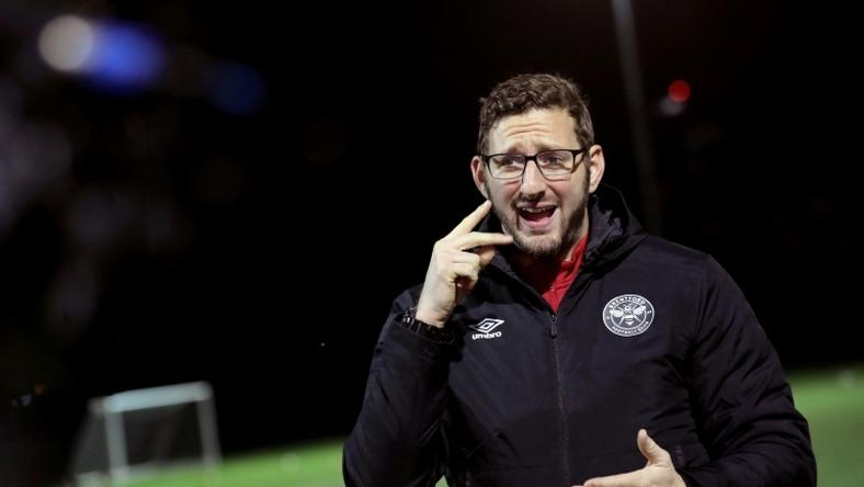 Ben Lampert is a coach with England's deaf football team and Brentford FC Community Sports Trust