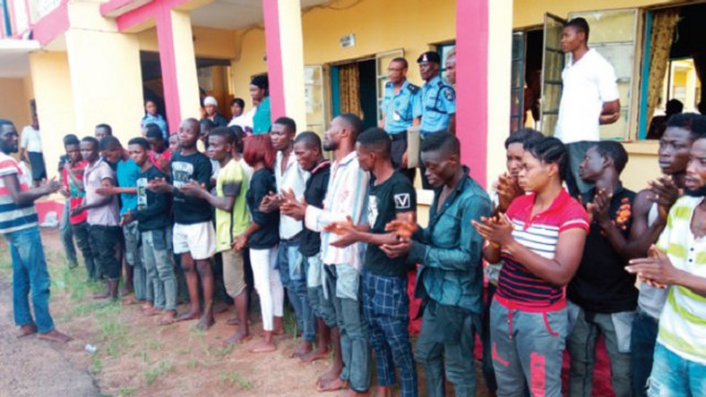 Police arrest 95 cultism suspects in Anambra - Illustration Purposely Only [PM News]