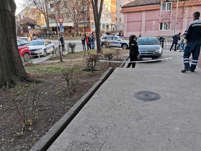 Mesto krvavog napada u Kruševcu