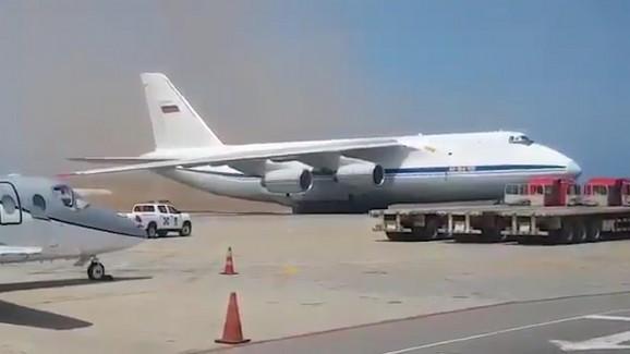 Ruski avion u Venecueli