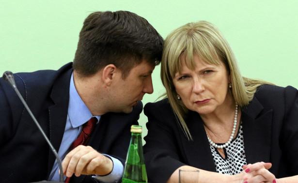 Michał Dworczyk i Małgorzata Gosiewska