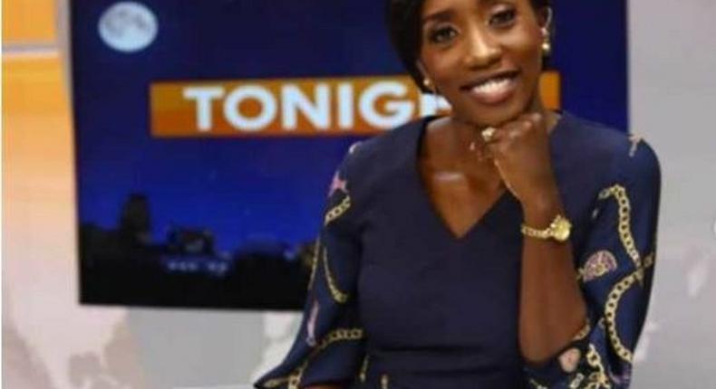 Yvonne Okwara at Citizen TV studios