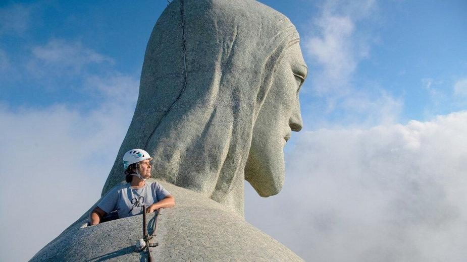 90 lat figury Chrystusa Odkupiciela w Rio de Janeiro (Brazylia)