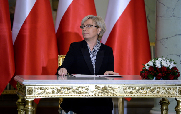 Julia Przyłębska - zaprzysiężenie na śedziego Trybunału Konstytucyjnego