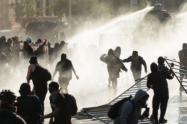 Protesti u Santjagu u novembru