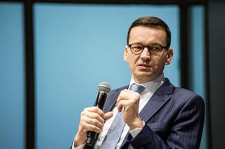 Mateusz Morawiecki złożył życzenia noworoczne. 'Wspaniałego A.D. 2018!'