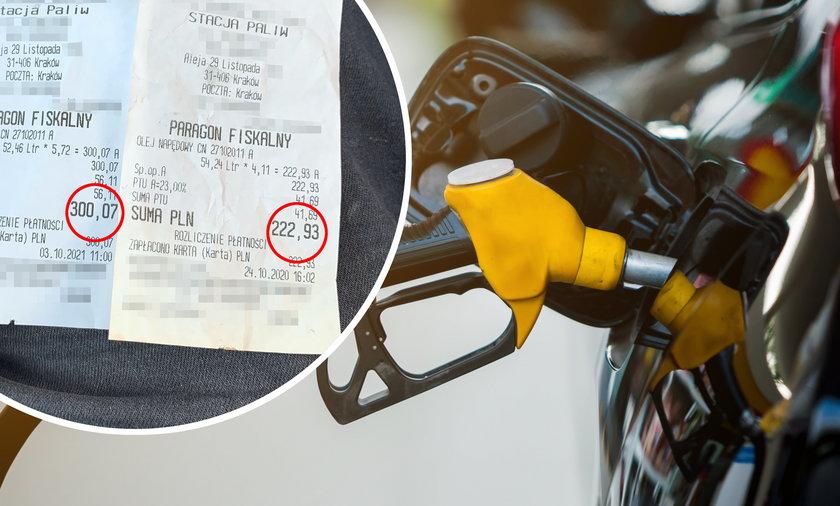 Tak się zmieniły ceny paliw w ciągu roku!