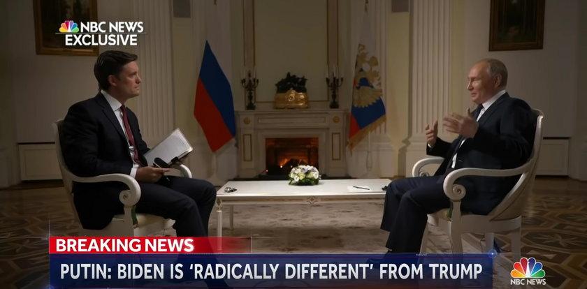 """Dziennikarz wytknął Putinowi zabójstwa. Prezydent wściekł się na wizji. Pytanie uznał za """"niegrzeczne"""""""