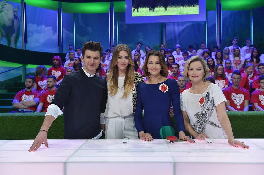 Marcelina Zawadzka w show TVP2