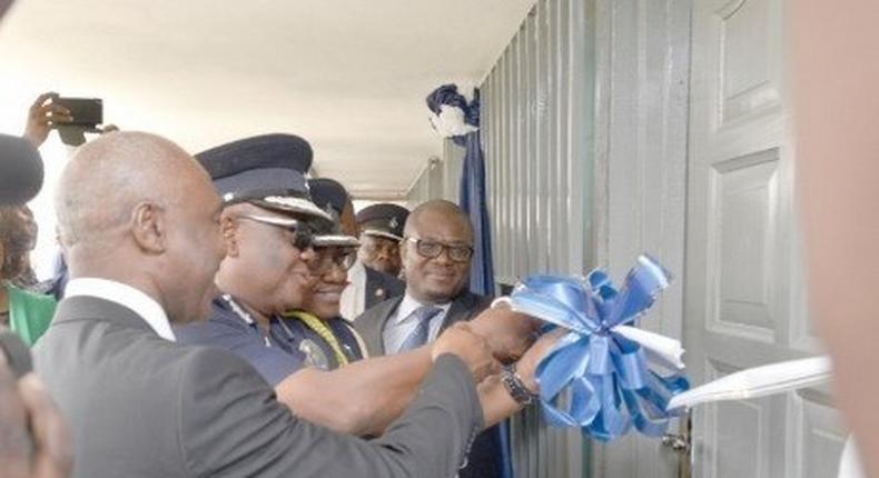 NHIA inaugurates biometric registration centre for Police